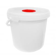 Ведро-диспенсер для антибактериальных салфеток
