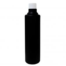 Флакон HDPE черный круглый (500 мл)