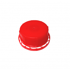 Крышка клапанная КРАСНАЯ ДГ=33 с контрольным кольцом