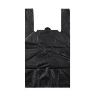 Пакет майка 30*50 без логотипа черная