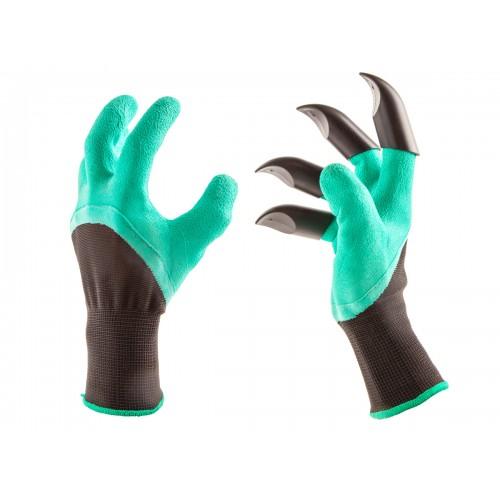 """Перчатки садовые с """"когтями"""" Garden Genie Gloves"""