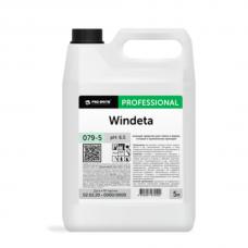 Нейтральное моющее средство для стекол и зеркал Windeta 5л